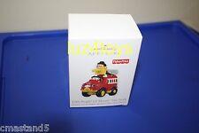 2011 Hallmark Fisher-Price Little People Lil Movers Fire Truck Ornament NIB