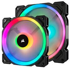 Corsair LL140 PWM RGB 140mm Computer Case Fans - Dual Pack