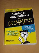 2002 STARTING AN EBAY BUSINESS FOR DUMMIES BOOK