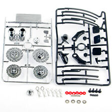 1/10 RC On Road Drift Car Body shell +Dummy Brake Disc Accessories HSP Upgrade