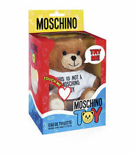 Moschino Toy  Collectible Toy Bear  Eau De Toilette Spray 50ml *NEW*