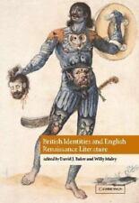 British Identities and English Renaissance Literature