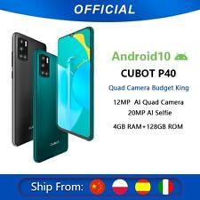 Cubot P40 Rear Quad Camera 20MP Selfie Smartphone NFC 4GB+128GB 6.2 Inch