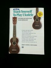 Alfred's Teach Yourself to Play Ukulele: Everything You Need to Know to start