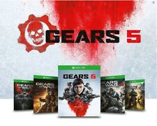 Gears of War 5 Ultimate - Edition avec Gears 4 3 2 et 1 Ultimate CODE XBOX ONE