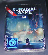 SURVIVAL GAME 3D STEELBOOK EDITION BLU-RAY FAST SHIPPING NEW & VINTAGE
