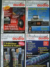 Professional Audio - 4 Ausgaben