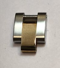 Authentic Rolex 10mm Stainless Steel & 18K Gold Oyster Bracelet Link OEM