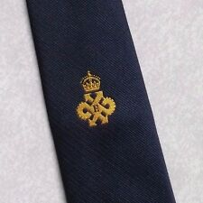 QUEEN'S AWARD EXPORT LOGO TIE VINTAGE RETRO CLUB ASSOCIATION 1980s 1990s