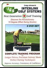 Interlink Golf Systems New Generation Golf Training 6 Dvd Set