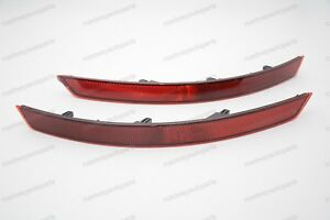 Rear Bumper Reflector Pair for Skoda Superb 2016 Left+Right