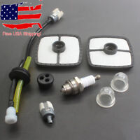 Air Fuel Filter Tune Up Kit For Echo ES-250 PB-250 PB-250LN Blowers Spark Plug