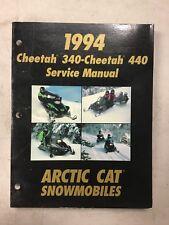 1994 Arctic Cat Snowmobile Service Cheetah 340;cheetah 440
