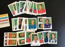 Set Completo Aggiornamenti Calciatori 99/2000 Panini 49 figurine da edicola 1999