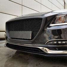 New M&S ABS Matte Black Front Bonnet Grille Black  for Genesis G80 Sedan 17-18