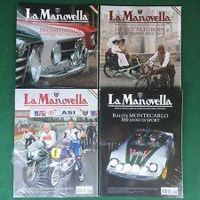 LA MANOVELLA (2011) Lotto 4 Riviste n.1 6 10 11 RALLY MONTECARLO Magazine Auto