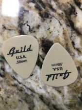 Two new old stock guild guitar guitar picks .58 GUAGE