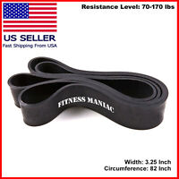 Pull Up Exercise Bands For Resistance Body Stretching, Fitness 70-170 lbs
