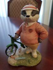 Villeroy & Boch Foxwood Tales Figurine Mr. Gruffey Picnic at Foxwood 1994