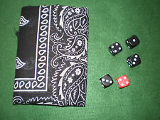 "MAGIC TRICK ""CAUGHT RED HANDED"" PK MENTALISM PROFFESIONAL WITH BLACK DICE"