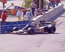 1977 Driver Jody Scheckter Glossy 8x10 Photo U.S. Grand Prix West Poster Wolf