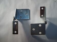 1963-1967 C2 Corvette Hood Hinge Pair. Includes Left and Right Hinges.