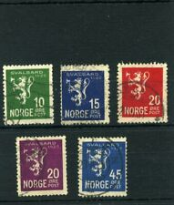 Alte Briefmarken Norwegen 1925/26  (3)