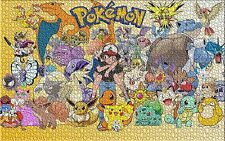 Pikachu Pokemon Pokémon Jigsaw Puzzle Brain Teasers Friends Hobbies 1000 pieces