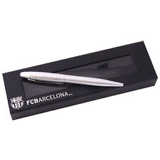 FC BARCELONA FCB EXECUTIVE ETCHED BALL POINT PEN SOUVENIR NEW GIFT XMAS