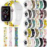 For Apple Watch iWatch Series 4 3 2 1 Replacement Silicon Sport Watch Band Strap