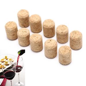10pcs/lot straight bottle wood corks wine stoppers wine bottle plug stoppeYUBI