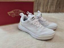 Vans Womens UltraRange Rapidweld True White Skate Trail shoes Size 7 NWT