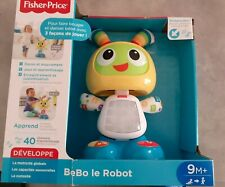 Bebo Le Robot Fisher Price Neuf