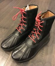 Polo Ralph Lauren Declan Duck Winter Boots Black New Men's Size 9