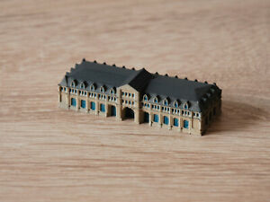 GW-22 Inch Buildings for Model Ships/Diorama 1:1250