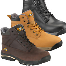 JCB WORKMAX BROWN CRAZY HORSE BOOT SIZE UK9