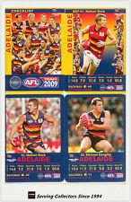2009 AFL Teamcoach Trading Card Base Team set Adelaide (13)