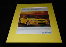 2001 Mazda Protege 5 Framed 11x14 ORIGINAL Vintage Advertisement