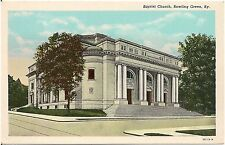 Baptist Church in Bowling Green KY Postcard