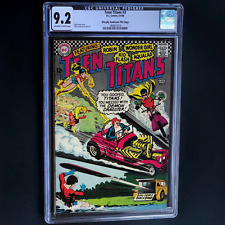 TEEN TITANS #3 (DC 1966) CGC 9.2 OW/W 💥 PEDIGREE FILE COPY 💥 Nick Cardy Cover!