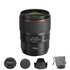 Canon EF 35mm f/1.4L II USM Lens for DSLR Camera Bodies