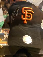 San Francisco Giants Jeff Kent #21 Autographed Baseball Cap in display case