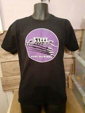 NEUF STEEL PANTHER Metal Rock Band Logo Hommes T-Shirt Noir Taille S M L XL 2XL 3XL
