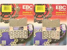 EBC HH Front and Rear Brake Pads 2007 2008 Suzuki GSXR1000 FA379HH FA419HH