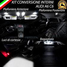 KIT LED INTERNI AUDI A6 C6 AVANT KIT CONVERSIONE COMPLETA 6000K CANBUS