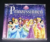 Disney Princess La Plus Beaux Lieder Complet Allemand CD Rapide Expédition Neuf