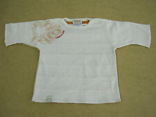Timberland Baby Boys 3/4 Sleeve T Shirt Top sizes 3 months 6 months Colour Cream