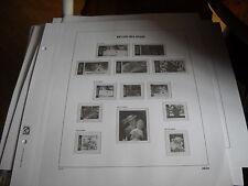 feuilles davo Be de luxe  supplément timbre de bloc année 2006