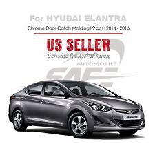 Chrome Door Catch Handle Cover Tape On for Hyundai Elantra 14-16 / Avante MD NEW