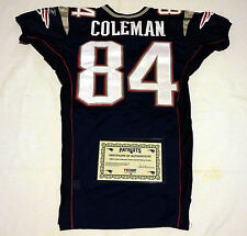 #84 Fred Coleman Team Issued Jersey By the New England Patriots